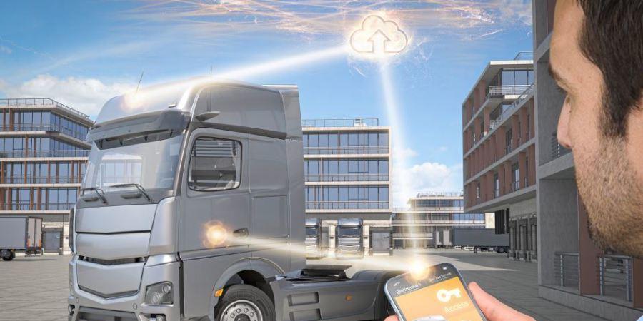 Cuando el teléfono inteligente se convierte en la llave del camión