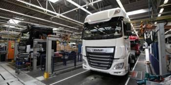 DAF aumentará la producción a 200 camiones al día en noviembre