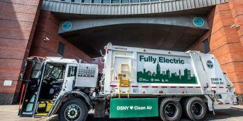 El Mack LR Electric ya opera en el Departamento de Saneamiento de Nueva York