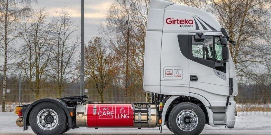 La flota de Girteka Logistics será de cero emisiones contaminantes para 2030