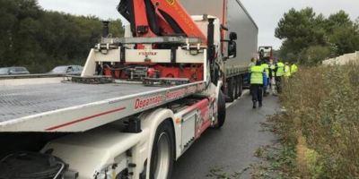 Localizan a un camionero muerto en la cabina del camión en Francia