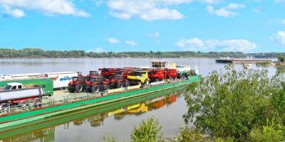 Nuevas soluciones para el transporte de grandes máquinas agrícolas en Europa.