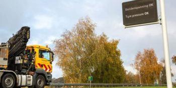 Un nuevo sistema avisa a los camioneros cuando la presión de la ruedas sea deficiente