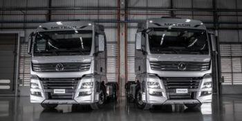 Volkswagen presenta la nueva línea de camiones Meteor en Brasil