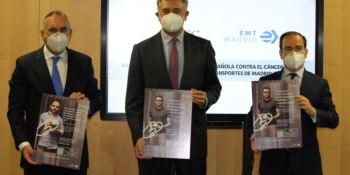La EMT de Madrid colabora con la AECC en su lucha contra la enfermedad