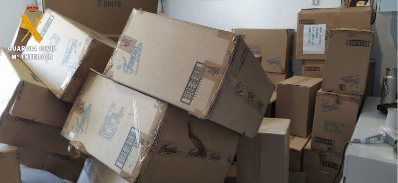 Recuperan parte del material robado de un camión en Atarfe
