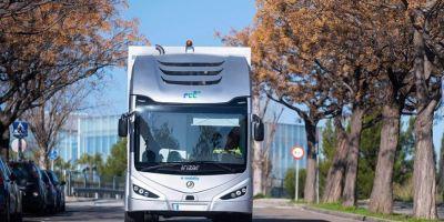 El Irizar ie truck ganador de los Premios Europeos de Medio Ambiente a la Empresa