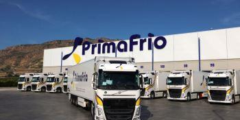 Grupo Primafrio recibe las primeras unidades de los 300 Volvo FH con I-Save 460 CV