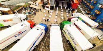 Hyundai entregó los primeros camiones de hidrógeno en Suiza