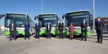 IVECO BUS entrega a AUVASA los primeros autobuses Urbanway de gas natural comprimido