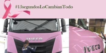 IVECO comprometido con la lucha contra el cáncer de mama