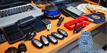 Desarticulado un grupo que robaba camiones de reparto tras vigilar a los conductores