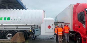 Nuevo punto de suministro GNC-GNL en Calais