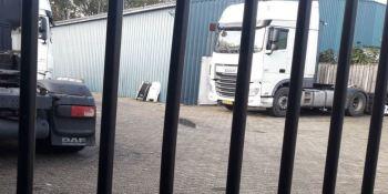 18 camioneros desalojados de un cobertizo con grave riesgo de incendio