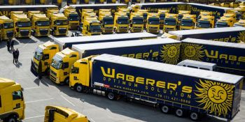 Waberer's International reduce la flota en 1.151camiones y 1.876 los conductores