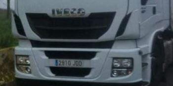 ¡Alerta!. Camión robado, marca IVECO matrícula 2910-JDD