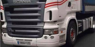 ¡Alerta!. Camión marca Scania, matrícula 1866-FZD