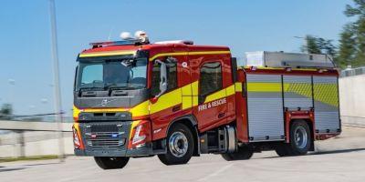 Así son los nuevos Volvo FM y FMX con cabina de tripulación para vehículos de emergencias