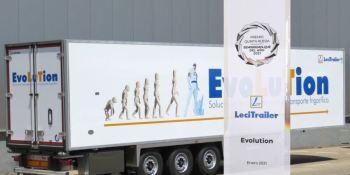 El frigorífico Evolution de Lecitrailer, mejor semirremolque del año en España