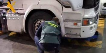 Investigado un camionero acusado de manipular el tacógrafo del camión