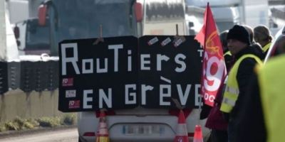 Sindicatos y huelga de transportes en Francia