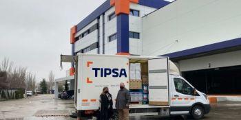 TIPSA dona 36.000 euros de su campaña de sobres solidarios