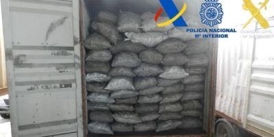 Desarticulada una organización dedicada al tráfico internacional de cocaína