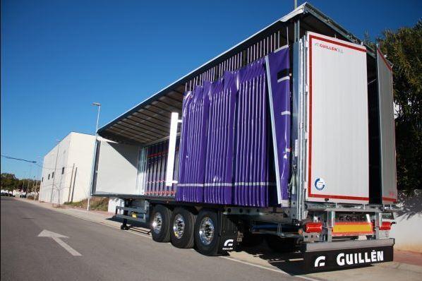 Guillén Group entrega sus primeros semirremolques lonas ultra rápidas