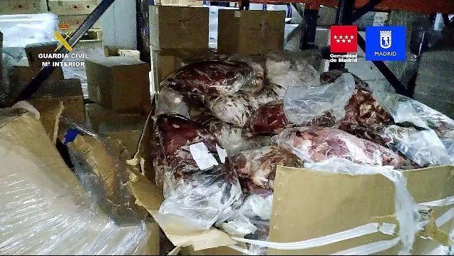 Incautados 122.000 kilos de productos cárnicos y detenidas14 personas
