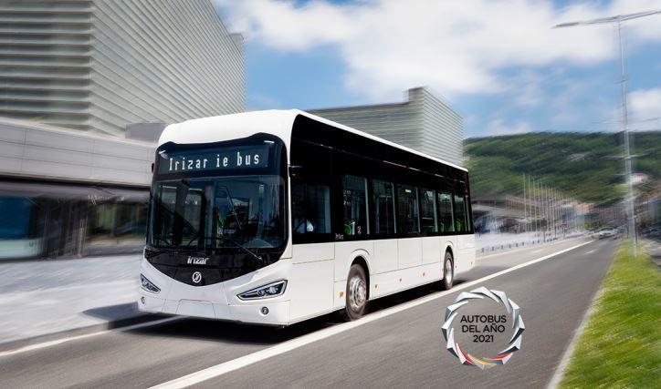 El Irizar ie bus galardonado con el premio Autobús del Año 2021 en España