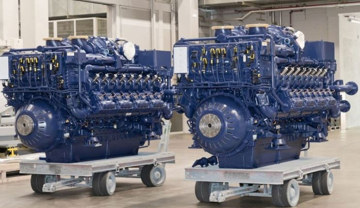 El primer remolcador híbrido a GNL llevará motores Rolls-Royce