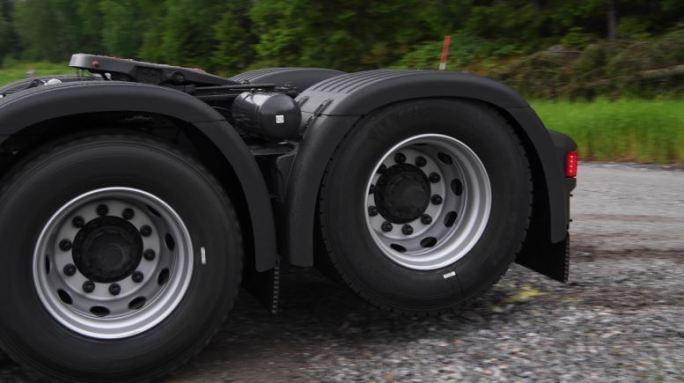 Scania presenta el eje tándem desembragable