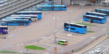 El negocio se redujo en un 90% para el sector de autobuses y autocares sueco