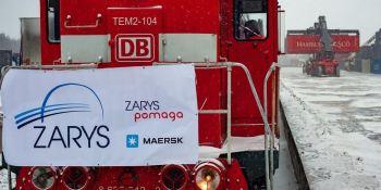Maersk lanza un tren desde China a Polonia para apoyar la entrega de equipos médicos