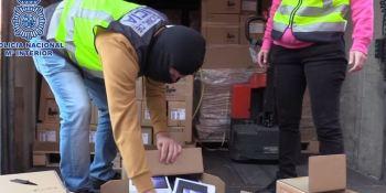 Detenido El Troll que robó 4 millones de euros en móviles de un camión pactado con el conductor