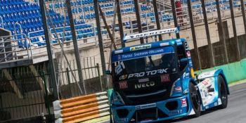 Los camiones de la Copa Truck se someten a pruebas en Interlagos