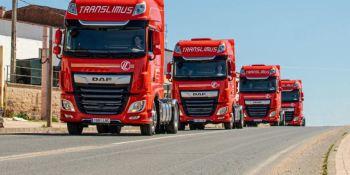 Translimus S.A amplía su flota con18 camiones DAF 480 Super Space Cab