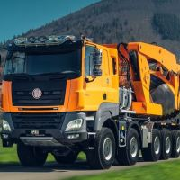 La historia de los camiones checos TATRA. Fotos