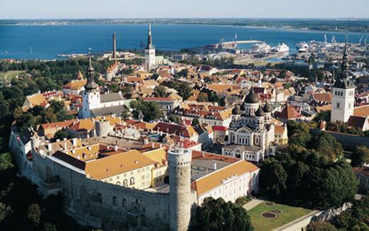El Castillo de Toompea, historia y política en Estonia