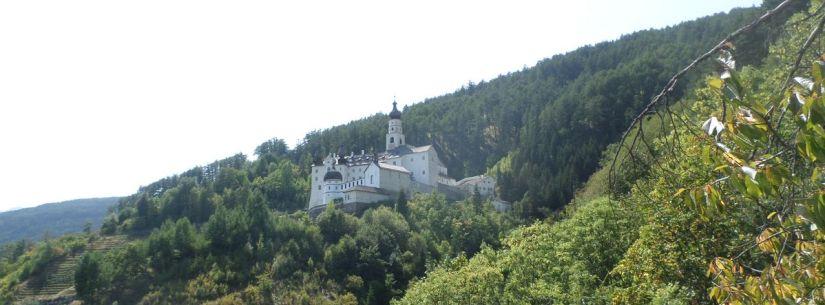 l'Abbazia di Marienberg in Val Venosta