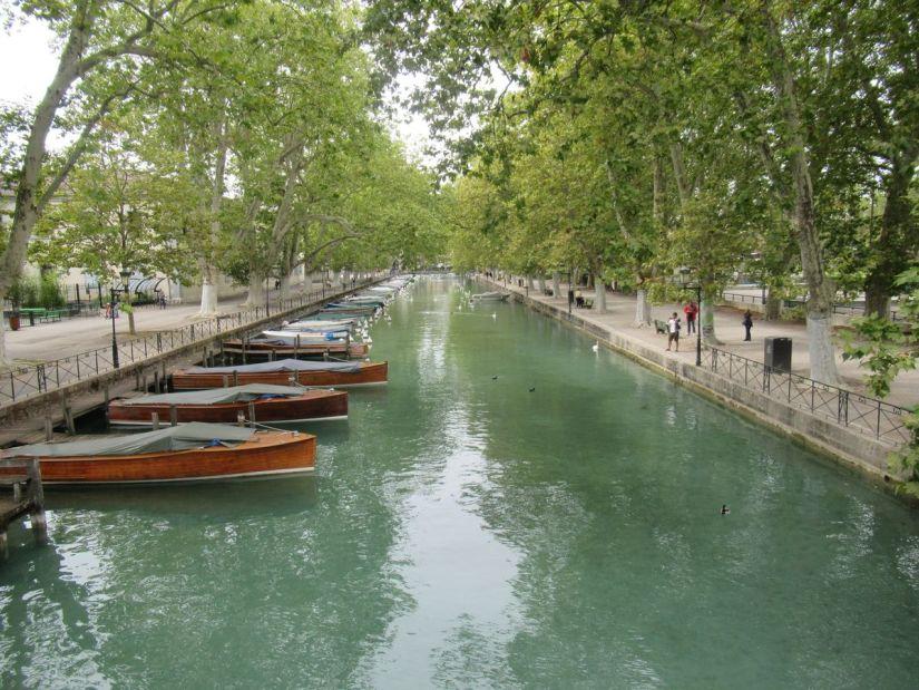 Canal du Vassé ad Annecy