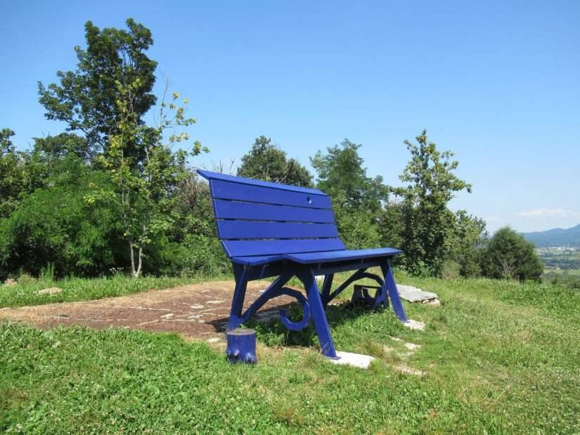 Panchina Gigante Bric Montrucco a Peveragno