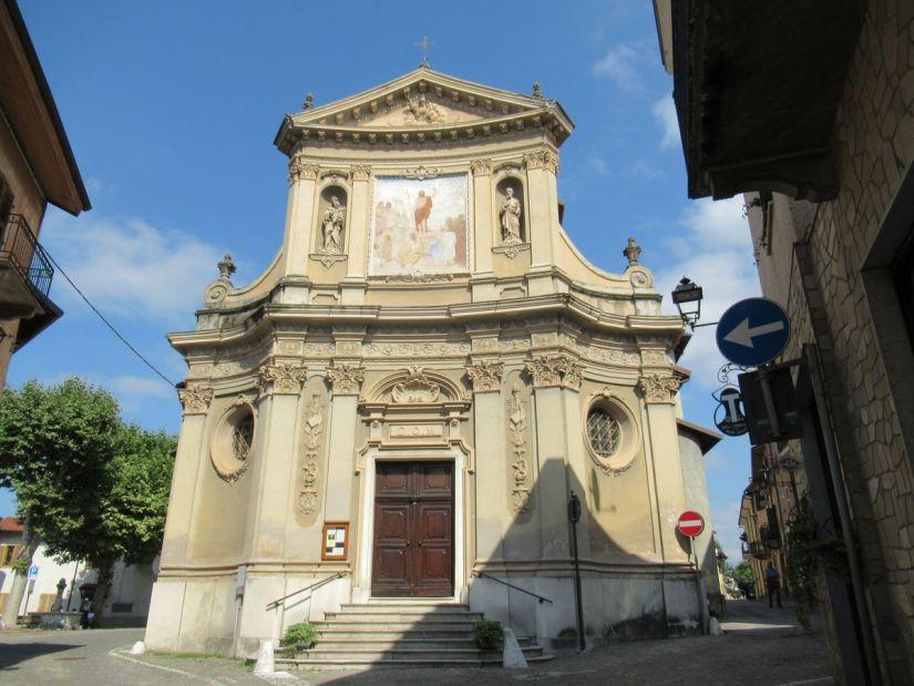 chiesa parrocchiale di San Giovanni Battista a Peveragno