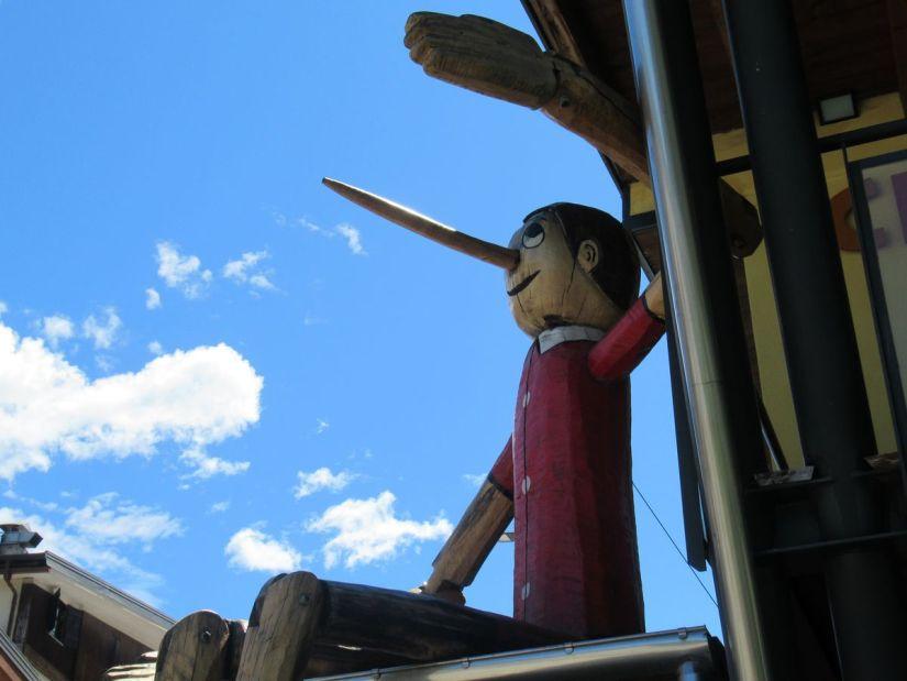 Pinocchio a Vernante