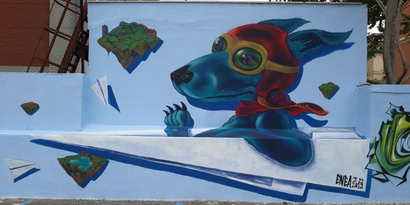 street art a Olbia
