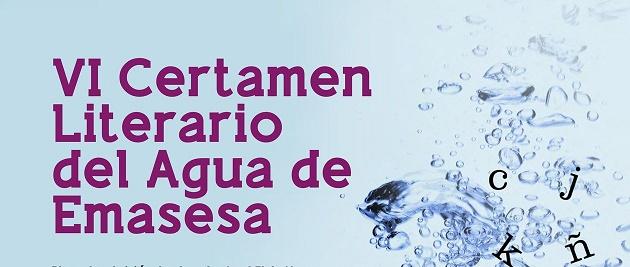 VI CERTAMVI Certamen Literario del Agua