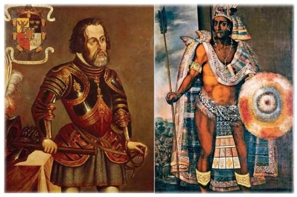 Hernan Cortes Moctezuma