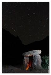 Elías Gomis Martín  Noche en el Dolmen de Santa Elena (Huesca)