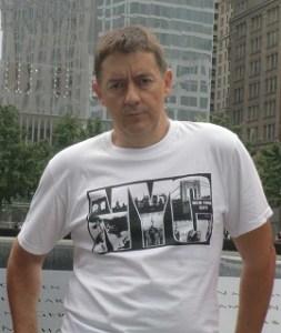 Foto de Miguel Rubio, autor de La ciudad rota