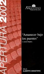 Amanecer bajo los puentes - T. Arg. de La Plata 20